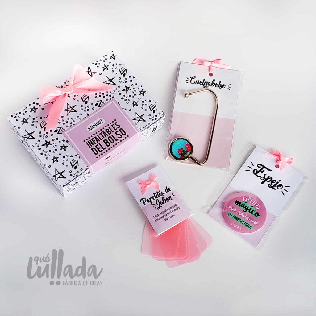 kit mini infaltables para el bolso