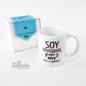 Mug para hombre