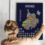 mapa santander para raspar