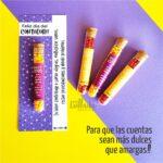tubos de dulce contador