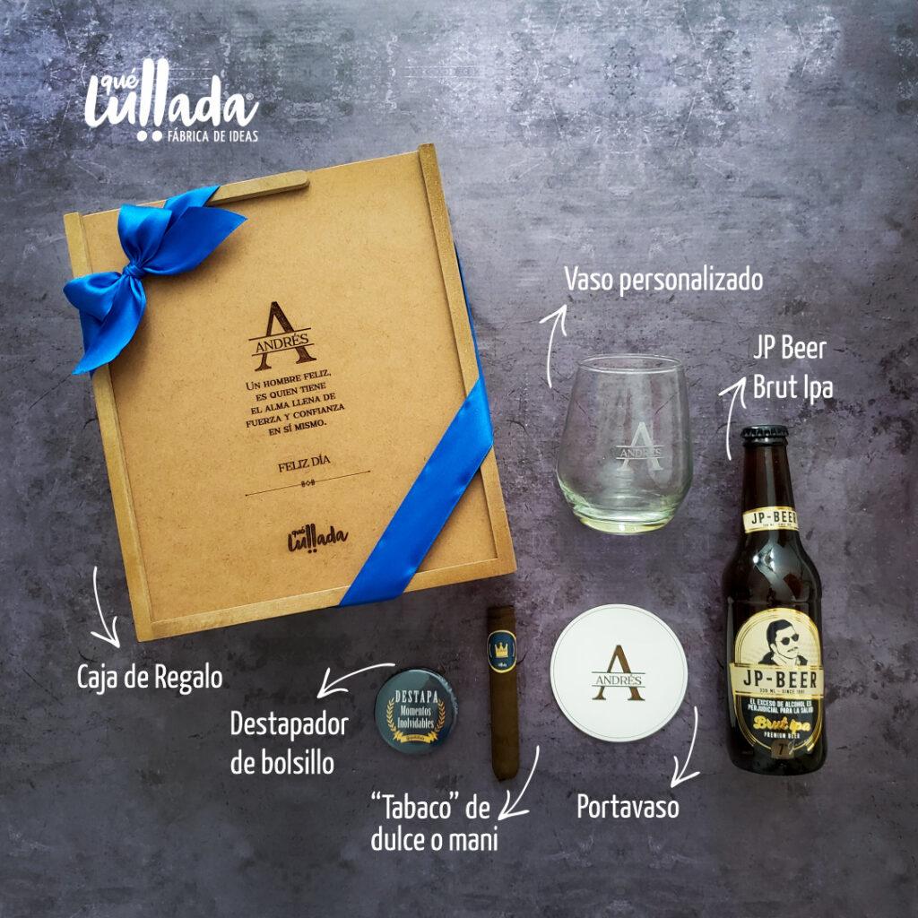 kit de regalo para hombre